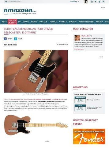 Amazona.de Fender American Performer Telecaster