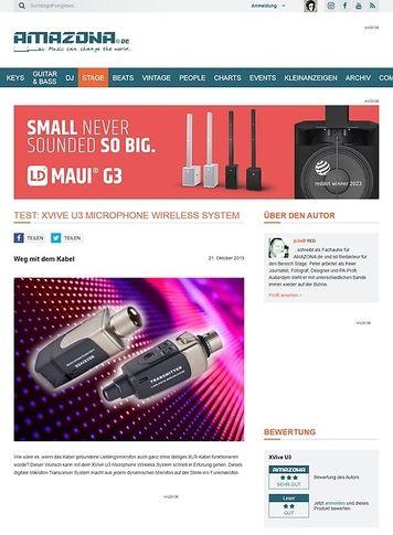 Amazona.de XVive U3 Microphone Wireless System