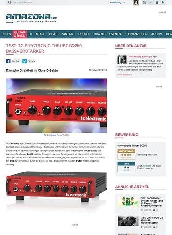 Amazona.de TC Electronic Thrust BQ250