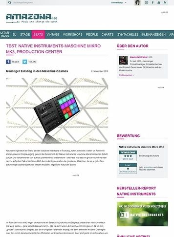 Amazona.de Native Instruments Maschine Mikro MK3