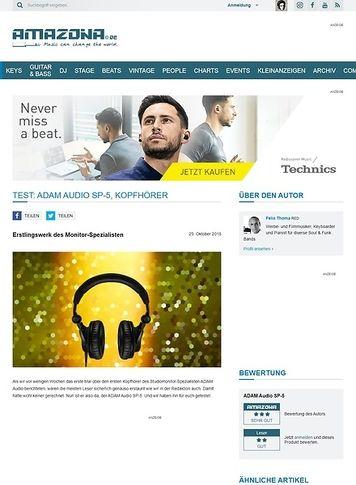 Amazona.de ADAM Audio SP-5