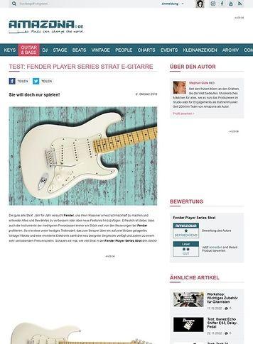 Amazona.de Fender Player Series Strat