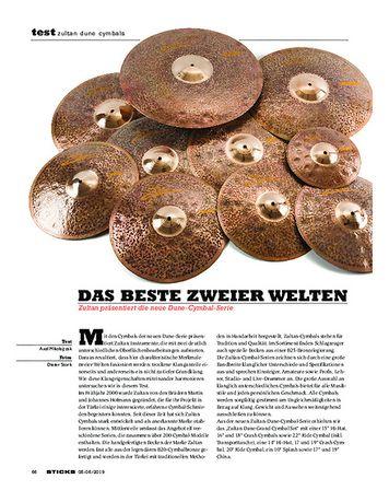 Sticks Zultan Dune Cymbals
