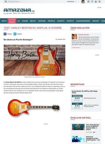 Amazona.de Harley Benton SC-450Plus