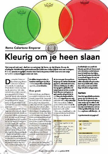 slagwerkkrant.nl Remo Colortone Emperor
