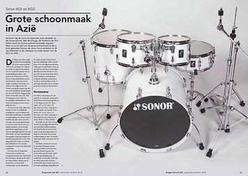 slagwerkkrant.nl Sonor AQ1 & AQ2