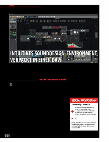 Professional Audio Bitwig Studio 3