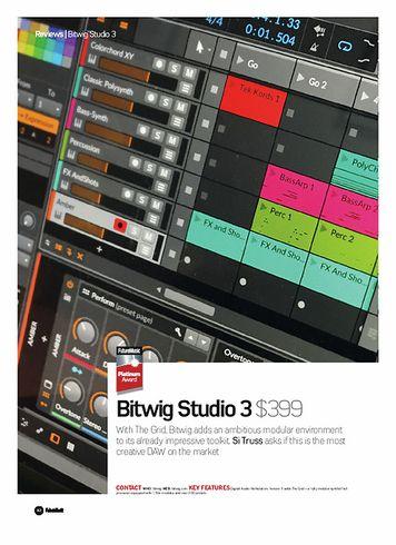 Future Music Bitwig Studio 3