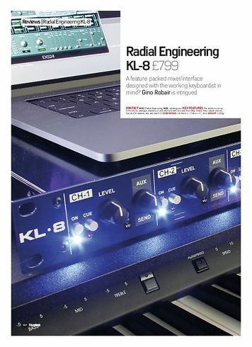 Future Music Radial Engineering KL-8