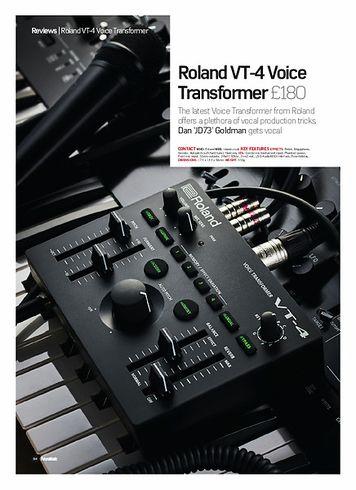 Future Music Roland VT-4
