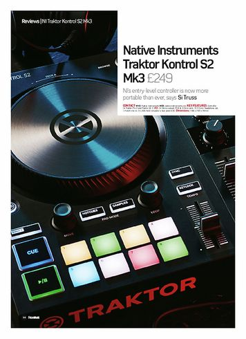 Future Music Native Instruments Traktor Kontrol S2 Mk3