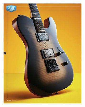 Total Guitar LTD TE-1000E TFM