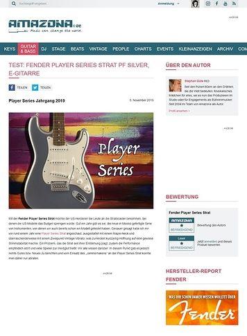 Amazona.de Fender Player Series Strat PF