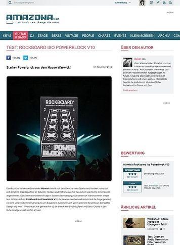Amazona.de Rockboard Iso Powerblock V10