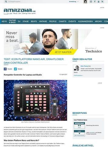 Amazona.de Icon Platform Nano