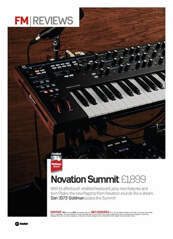 Future Music Novation Summit