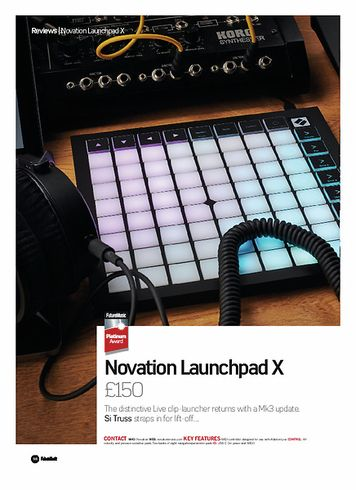 Future Music Novation Launchpad X