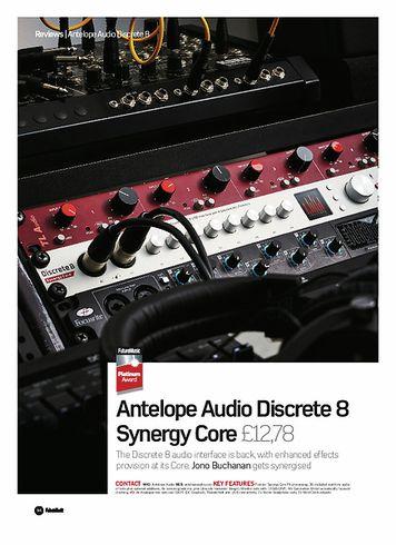Future Music Antelope Audio Discrete 8 Synergy Core