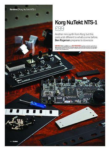Future Music Korg Nu:Tekt NTS-1