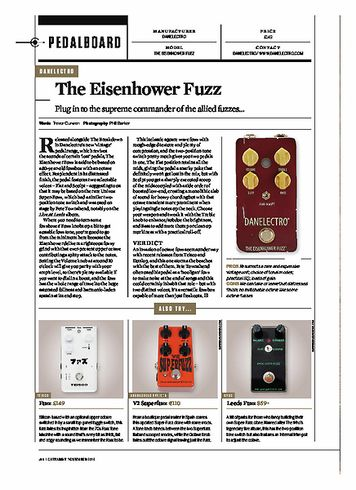 Guitarist Danelectro The Eisenhower Fuzz