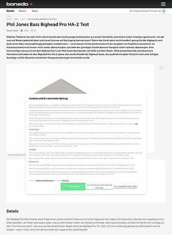 Bonedo.de Phil Jones Bass Bighead Pro HA-2