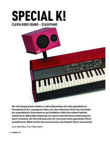 Keyboards Clavia Nord Grand