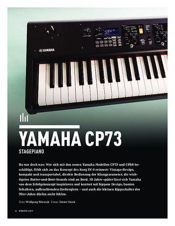 Keyboards YAMAHA CP73