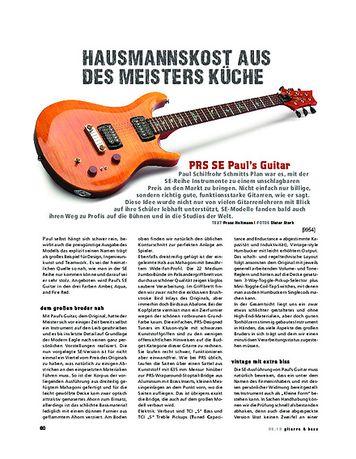 Gitarre & Bass PRS SE Pauls Guitar