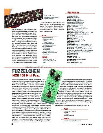 Gitarre & Bass MXR 108 Mini Fuzz