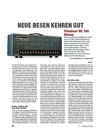Gitarre & Bass Friedman BE 100 Deluxe