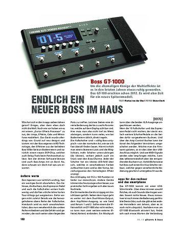 Gitarre & Bass Boss GT-1000
