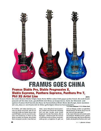 Gitarre & Bass Framus D Series