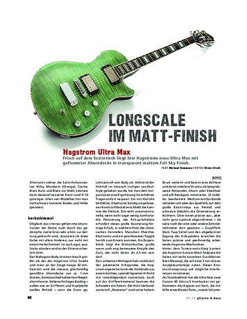 Gitarre & Bass Hagstrom Ultra Max