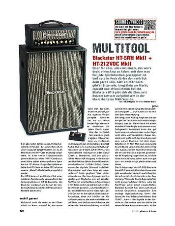 Gitarre & Bass Blackstar HT-5RH MKII + HT-212VOC MkII