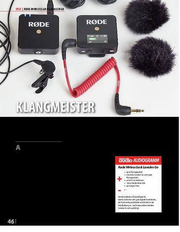 Professional Audio Rode Wireless GO & Lavalier GO