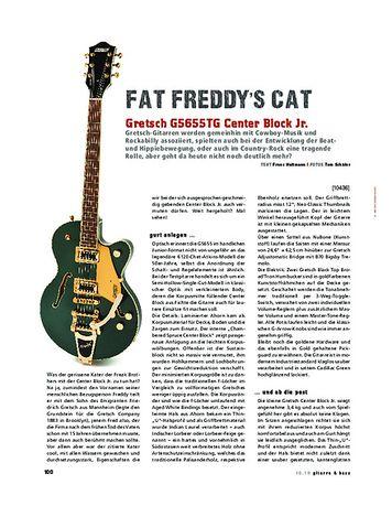 Gitarre & Bass Gretsch G5655TG