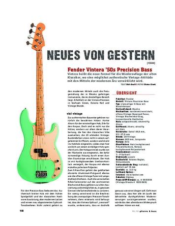 Gitarre & Bass Fender Vintera 50s Precision Bass
