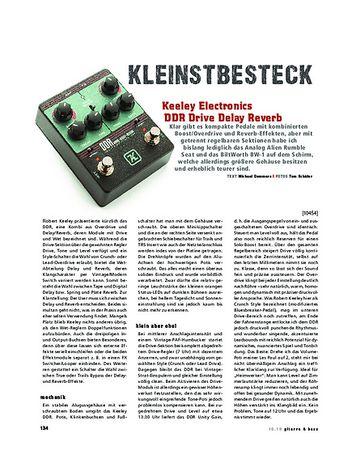 Gitarre & Bass Keeley Drive Delay Reverb