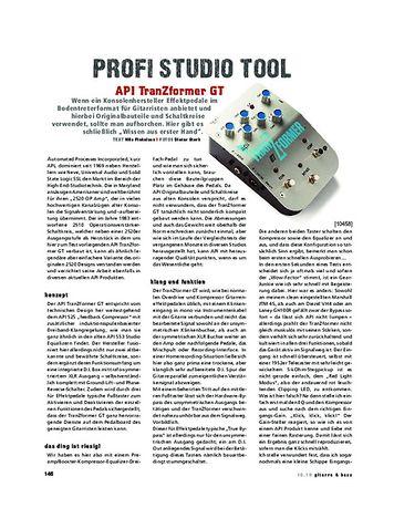 Gitarre & Bass API TranZformer GT