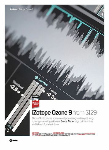 Future Music iZotope Ozone 9