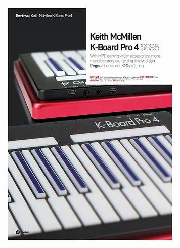 Future Music Keith McMillen K-Board Pro 4