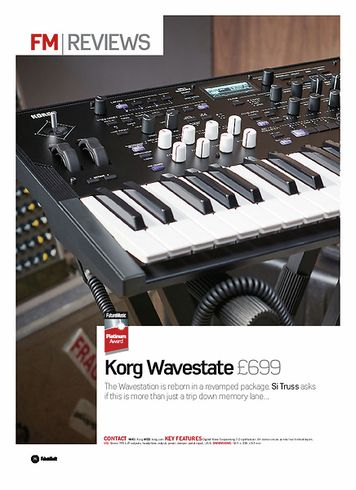 Future Music Korg Wavestate