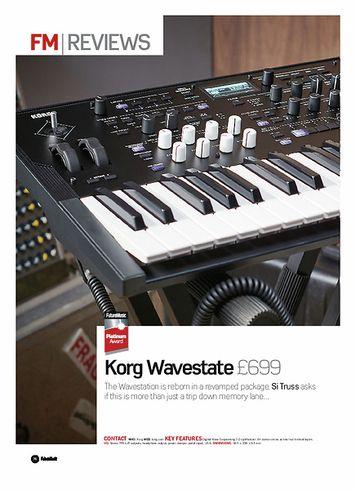 Future Music Korg Wavestate