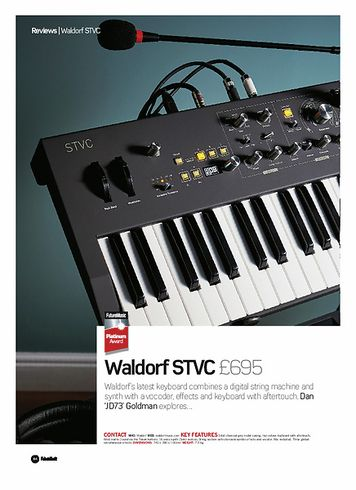 Future Music Waldorf STVC