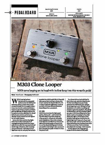 Guitarist M303 Clone Looper