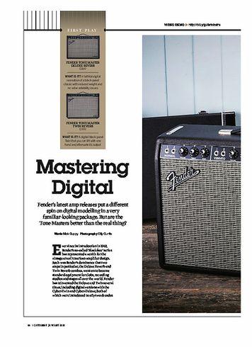 Guitarist Fender Tone Master Deluxe Reverb
