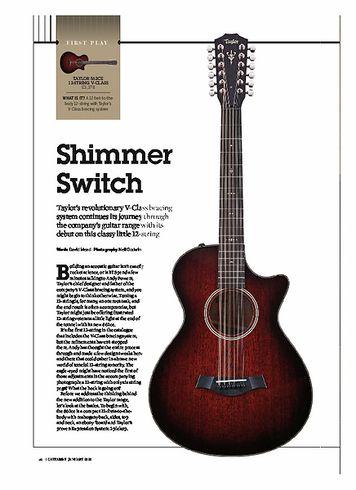Guitarist Taylor 562CE 12 String V-Class
