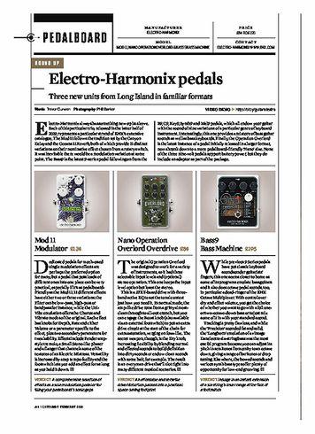 Guitarist Electro Harmonix Nano Overlord Overdrive