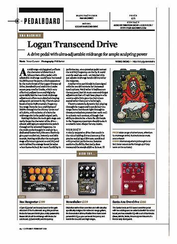 Guitarist Logan Transcend Drive