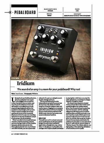 Guitarist Strymon Iridium